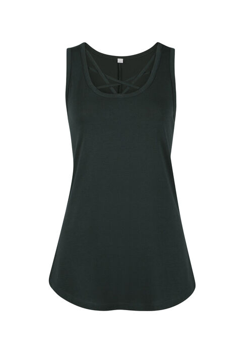 Ladies' Cage Neck Tank, JASPER, hi-res