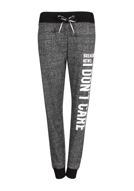 Ladies' I Dont Care Jogger