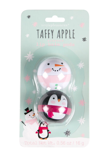 Taffy Apple Lip Balm Set