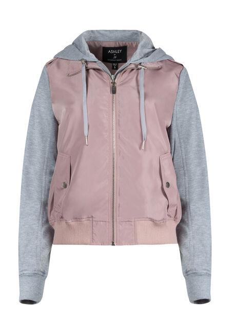 Ladies' Hooded Bomber Jacket