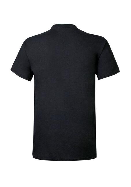 Men's Deadpool Icon Tee, BLACK, hi-res