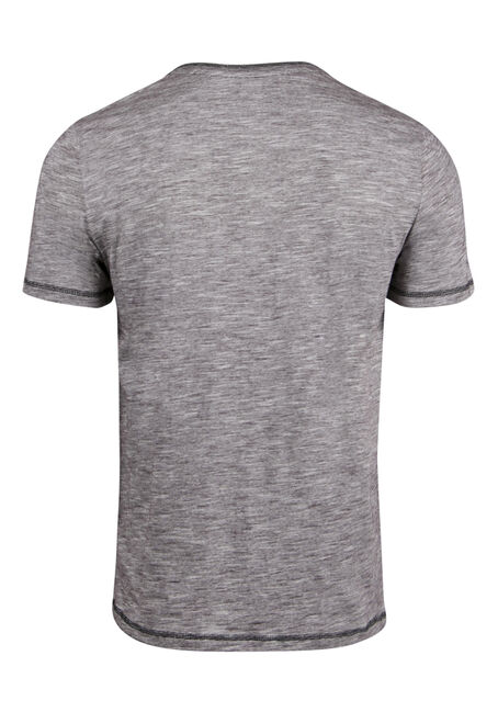 Men's Everyday Y-neck Tee, BURGUNDY, hi-res