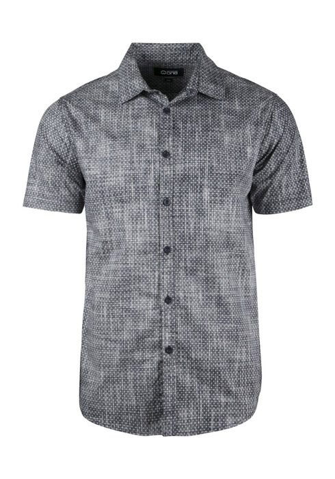 Men's Relaxed Chambray Shirt, BLUE, hi-res