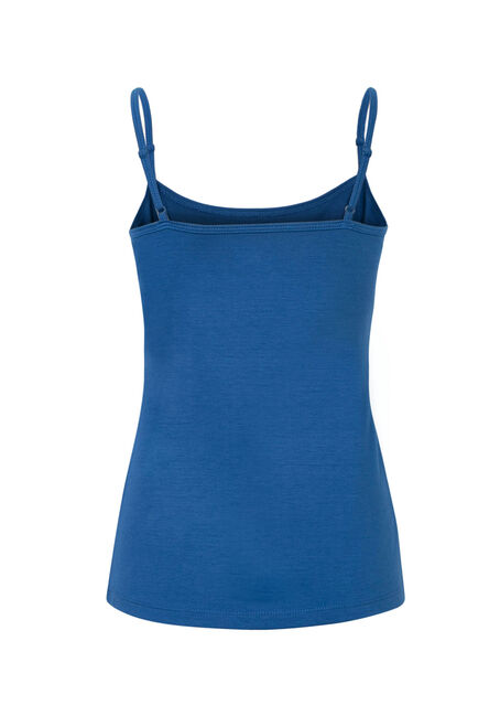 Ladies' Adjustable Strap Tank, MARINA BLUE, hi-res