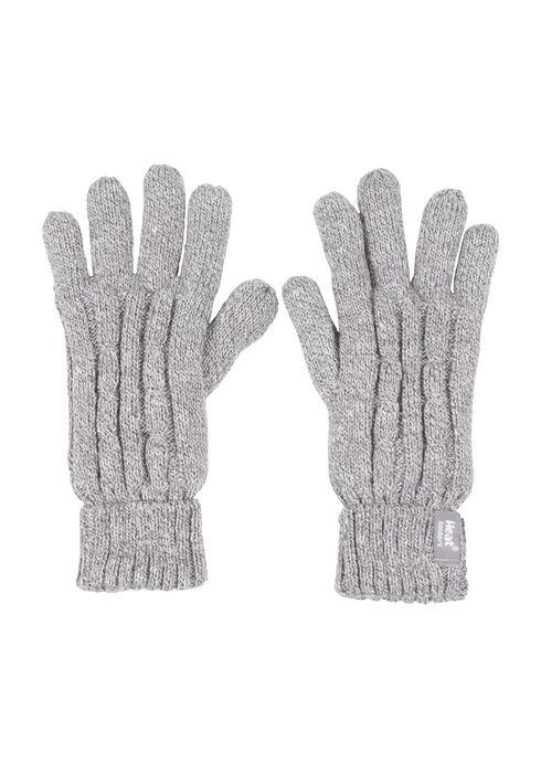 Ladies' Thermal Gloves, GREY, hi-res