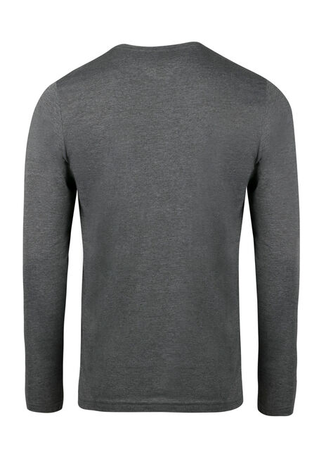Men's Everyday Crew Neck Tee, Charcoal, hi-res
