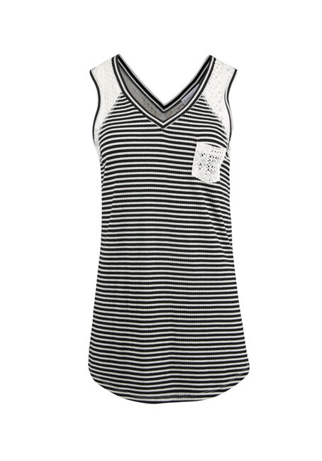 Ladies' Mini Stripe Tank