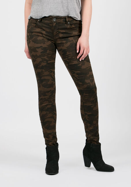 Ladies' Camo Skinny Pants