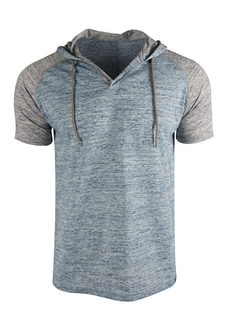 Men's Hooded Raglan Tee