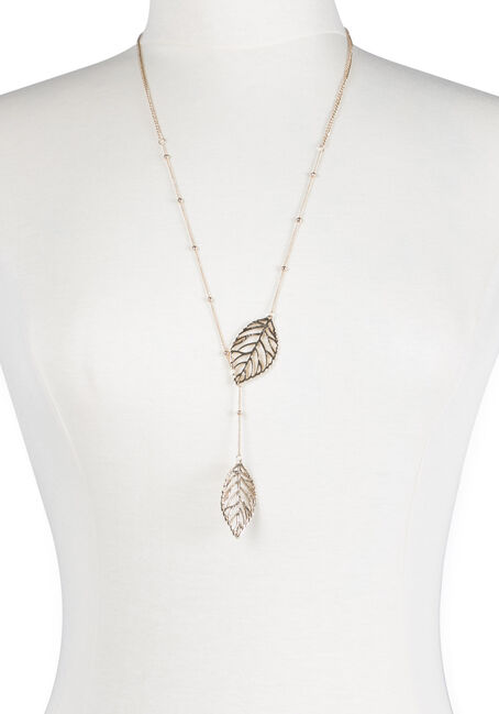 Ladies' Linked Leaf Necklace