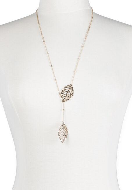 Ladies' Linked Leaf Necklace