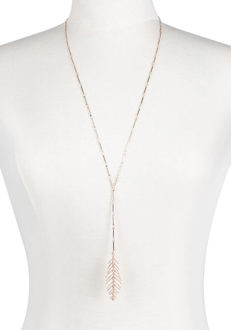 Ladies' Y Neck Feather Necklace