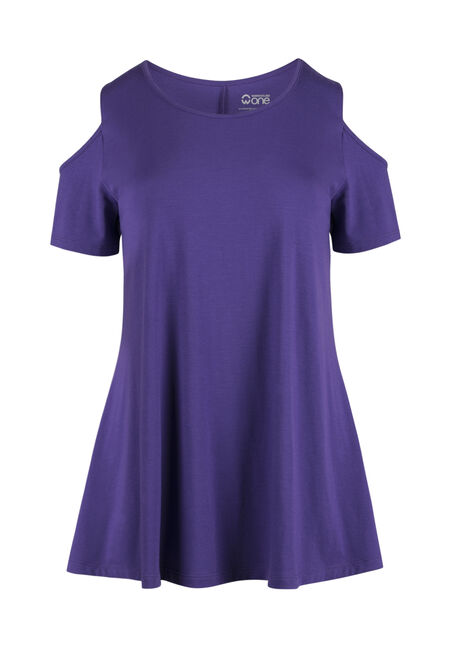 Ladies' Cold Shoulder Tee