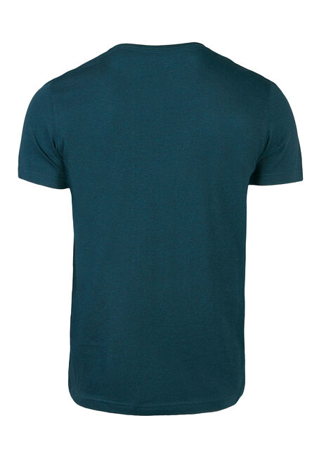 Men's Everyday V-Neck Tee, Emerald, hi-res