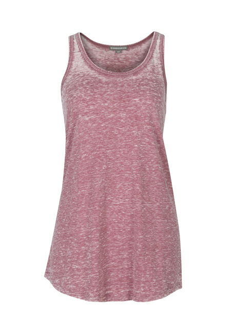 Ladies' Burnout Racerback Tank, ROSEBUD, hi-res