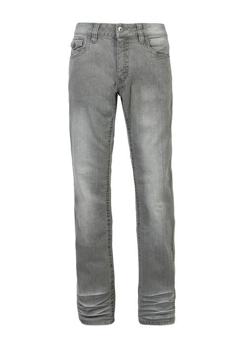 Men's Bootcut Jeans, GREY, hi-res