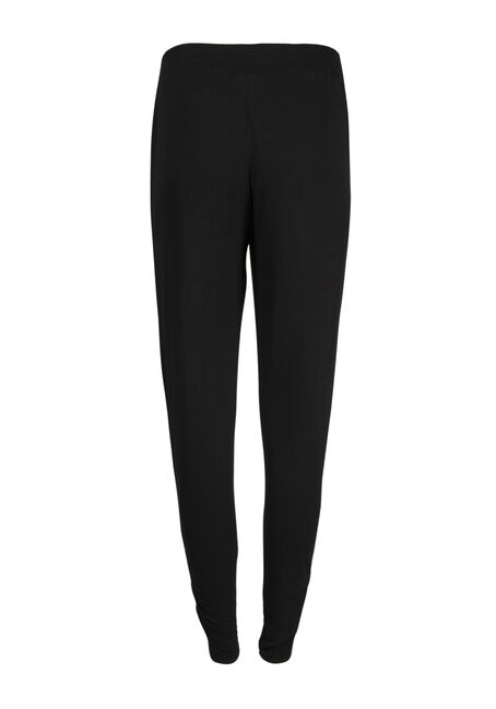 Ladies' Convertible Lounge Pant, BLACK, hi-res
