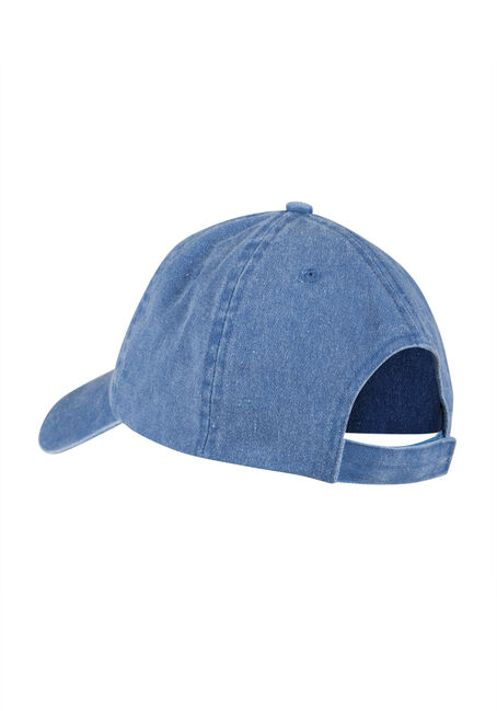 Ladies' Basic Baseball Hat, MEDIUM BLUE, hi-res