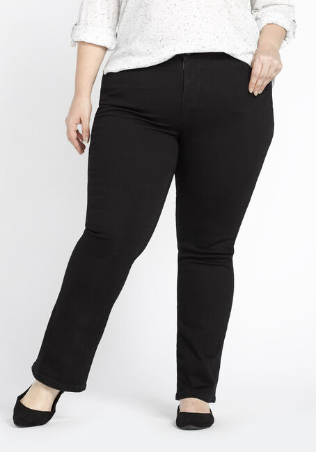 Ladies' Plus Size Baby Boot Jeans
