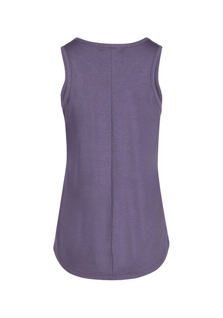 Ladies' Cage Neck Tank, DAHLIA, hi-res