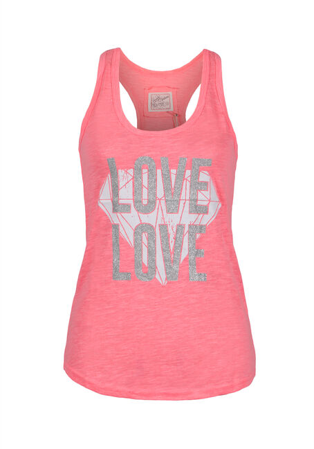 Ladies' Love Diamond Racerback Tank