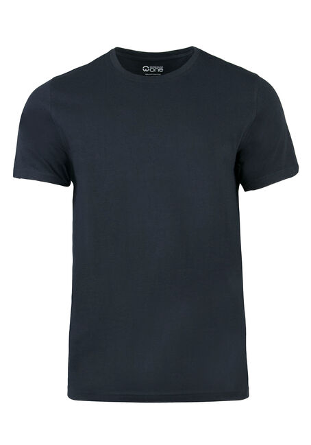 Men's Everyday Crew Neck Tee, Navy, hi-res