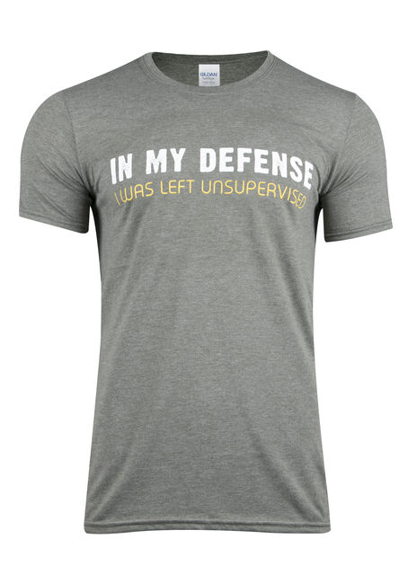 Men's In My Defense Tee