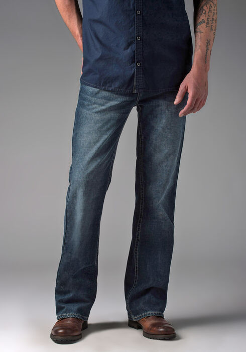 Men's Bootcut Medium Vintage Jeans, MEDIUM VINTAGE WASH, hi-res