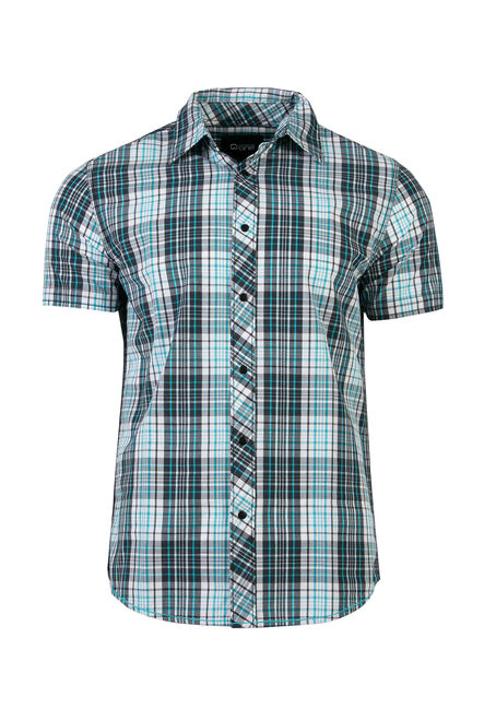 Men's Relaxed Fit Plaid Shirt