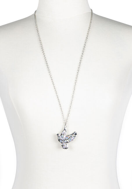 Ladies' Iridescent Dove Necklace