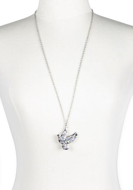 Ladies' Iridescent Dove Necklace