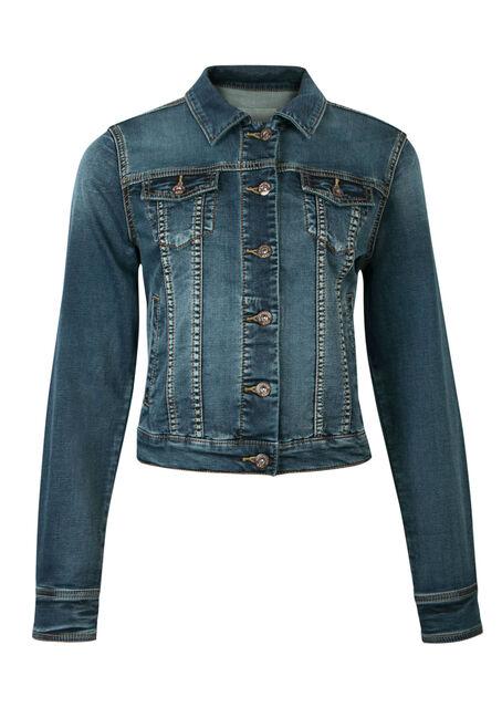 Ladies' Super Soft Jean Jacket