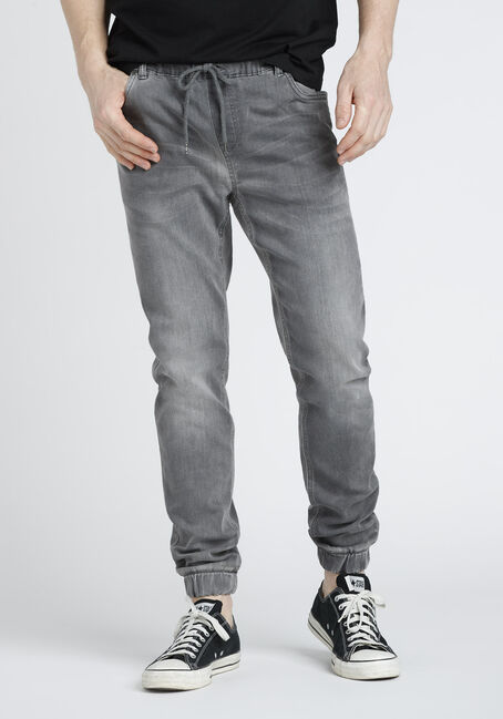 Men's Stretch Denim Joggers