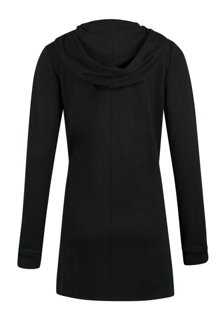 Ladies' Fleece Jacket, BLACK, hi-res