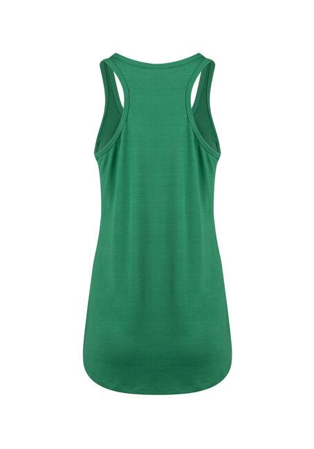 Ladies' Irish For A Day Racerback Tank, KELLY GREEN, hi-res
