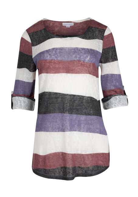 Ladies' Stripe Tunic tee