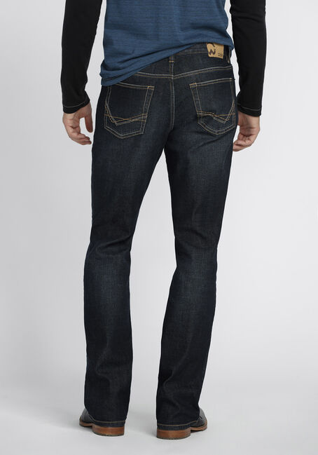 Men's Classic Boot Jeans, DARK WASH, hi-res