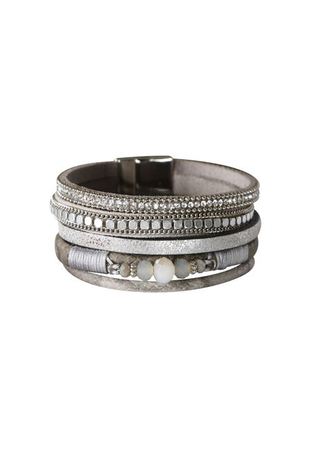 Ladies' Magnetic 5 Row Bracelet