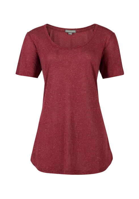 Ladies' Tunic Tee, ROSEBUD, hi-res