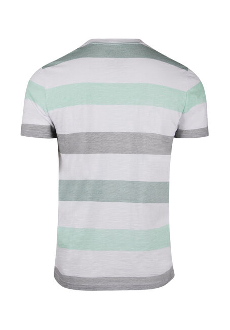 Men's Vintage Striped Tee, SEA FOAM, hi-res