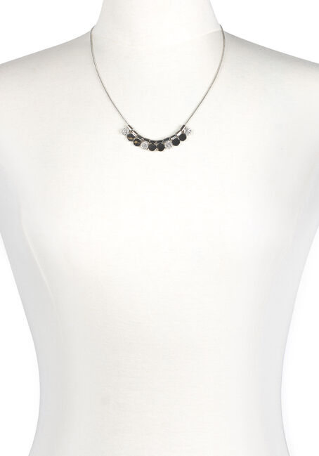 Ladies' Short Mini Discs Necklace
