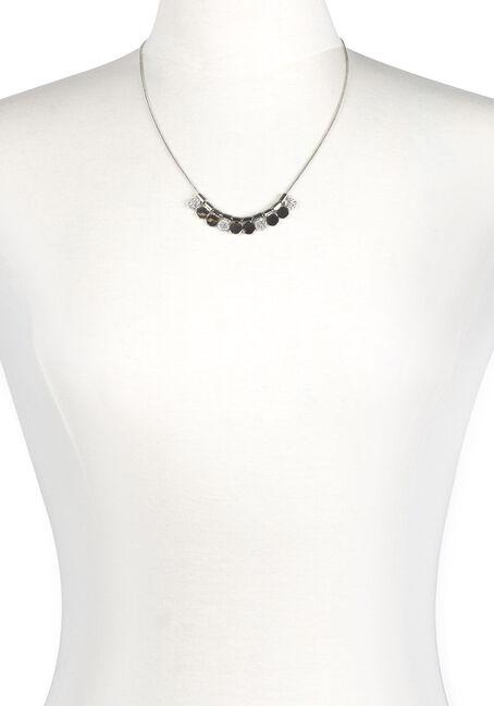 Ladies' Short Mini Discs Necklace