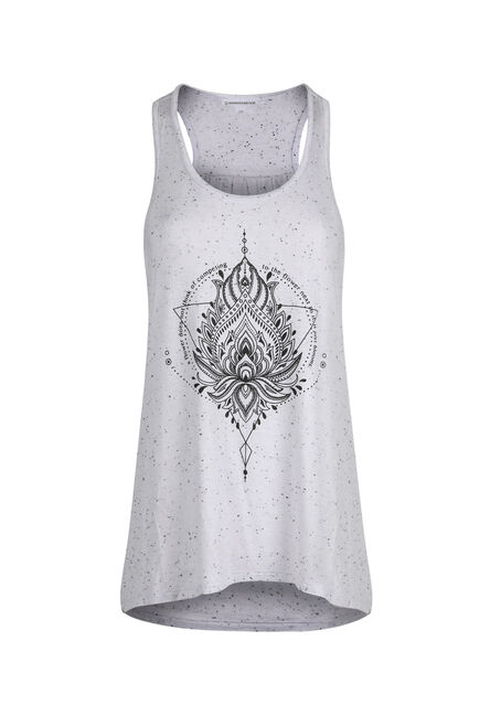 Ladies' Lotus Mandala Tank