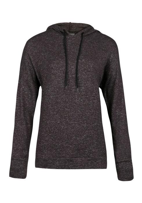 Ladies' Super Soft Popover Hoodie, CHARCOAL, hi-res