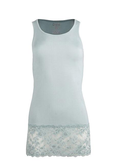 Ladies' Lace Trim Tunic Tank