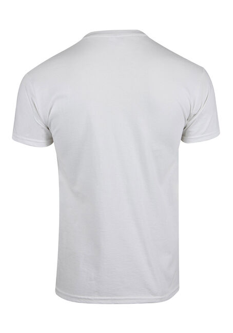 Men's Jaws Tee, WHITE, hi-res