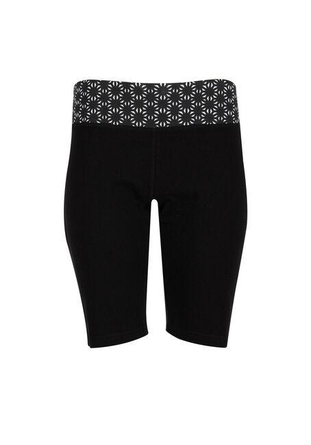 Ladies' Pattern Waistband Bermuda Short