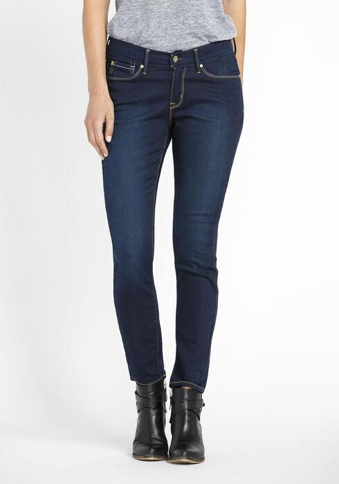 Ladies' Skinny Jeans, RINSE WASH, hi-res