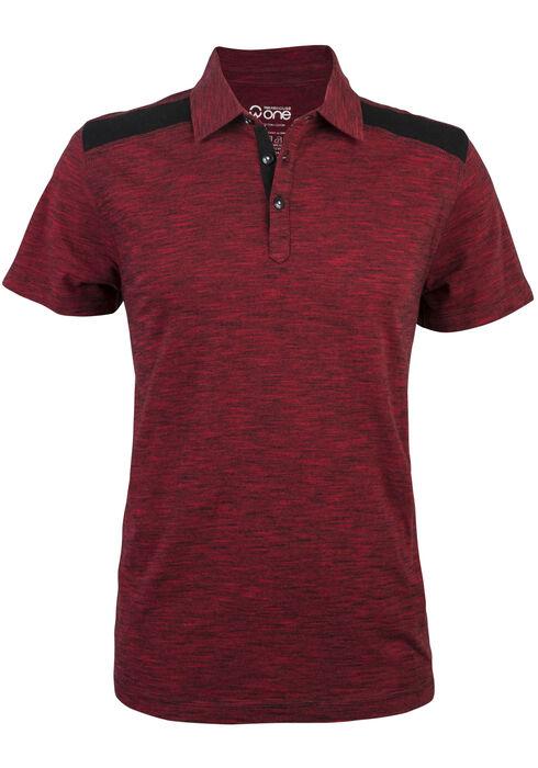 Men's Polo Shirt, RED, hi-res
