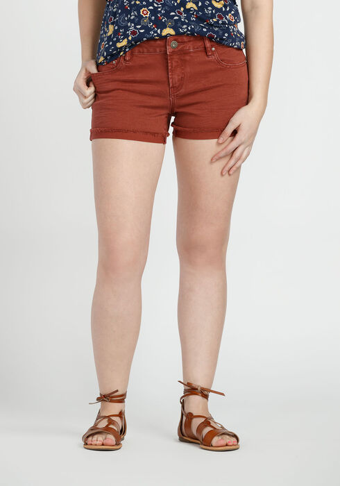 Ladies' Not-So-Short Short, TERRACOTTA, hi-res
